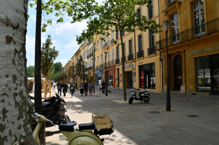 Aix en provence straatbeeld